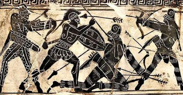 Εχετλαίος ή Εχέτλος ο ήρωας με το αλέτρι