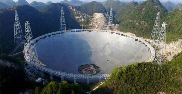 Η Κίνα αναζητεί εξωγήινους με το μεγαλύτερο ραδιοτηλεσκόπιο του κόσμου (βίντεο)