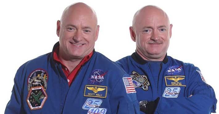 Οι δίδυμοι της NASA που απέδειξαν πως αλλάζει το DNA στο διάστημα