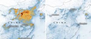 Διαλύεται το νέφος στην Κίνα λόγω κορωναϊού