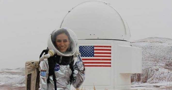 NASA: Στην αφρόκρεμα των επισημόνων Ελληνίδα ερευνήτρια