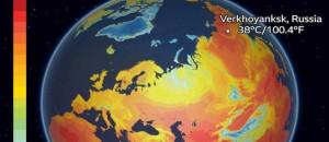 Στα όρια του πανικού για την ανθρωπότητα, Θερμοκρασία 38 βαθμών στη Σιβηρία