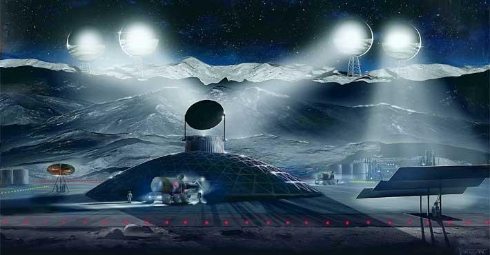 Ο Τραμπ το κάνει επίσημο, Ορυχεία στο Φεγγάρι