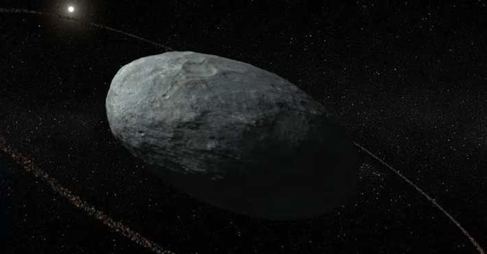 Ανακάλυψαν δακτύλιο γύρω από τον πλανήτη Χαουμέια